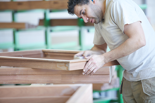 houten kozijn