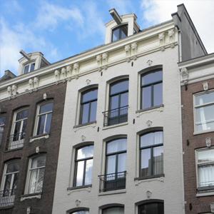 raamkozijn oude stijl in amsterdam